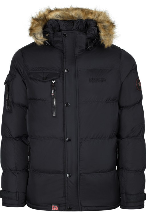 Norway Geographical Outdoor Erkek Mont CLEMENT SİYAH