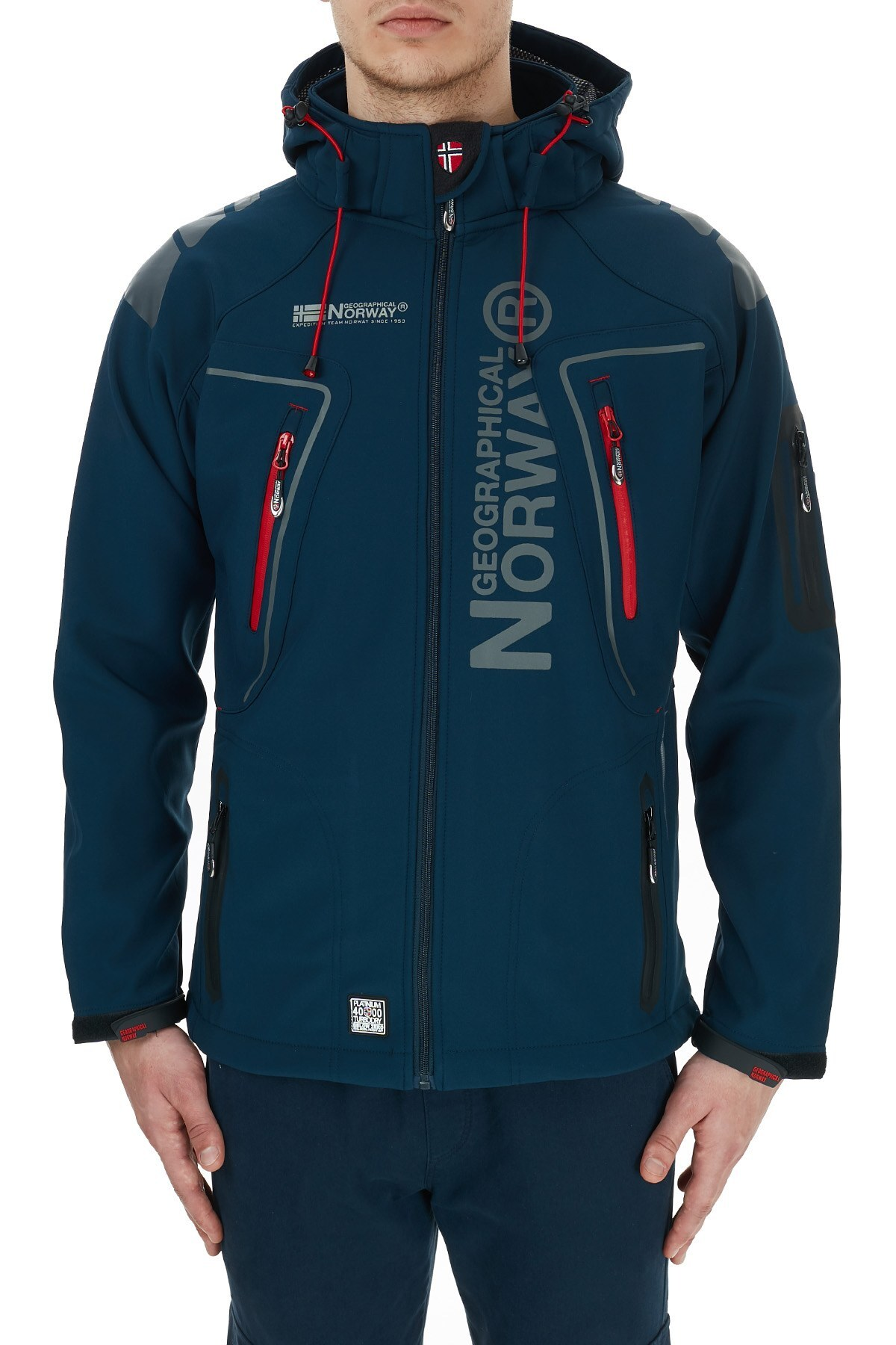 Norway Geographical Outdoor Erkek Mont TECHNO LACİVERT
