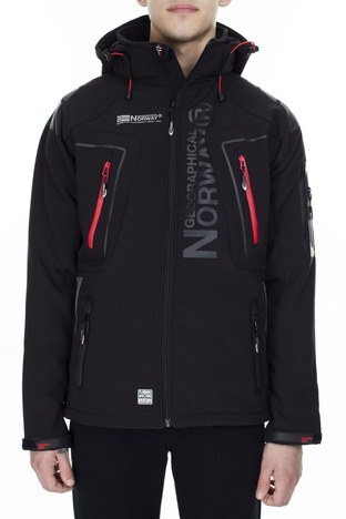 Norway Geographical - Norway Geographical Outdoor Erkek Mont TECHNO SİYAH (1)