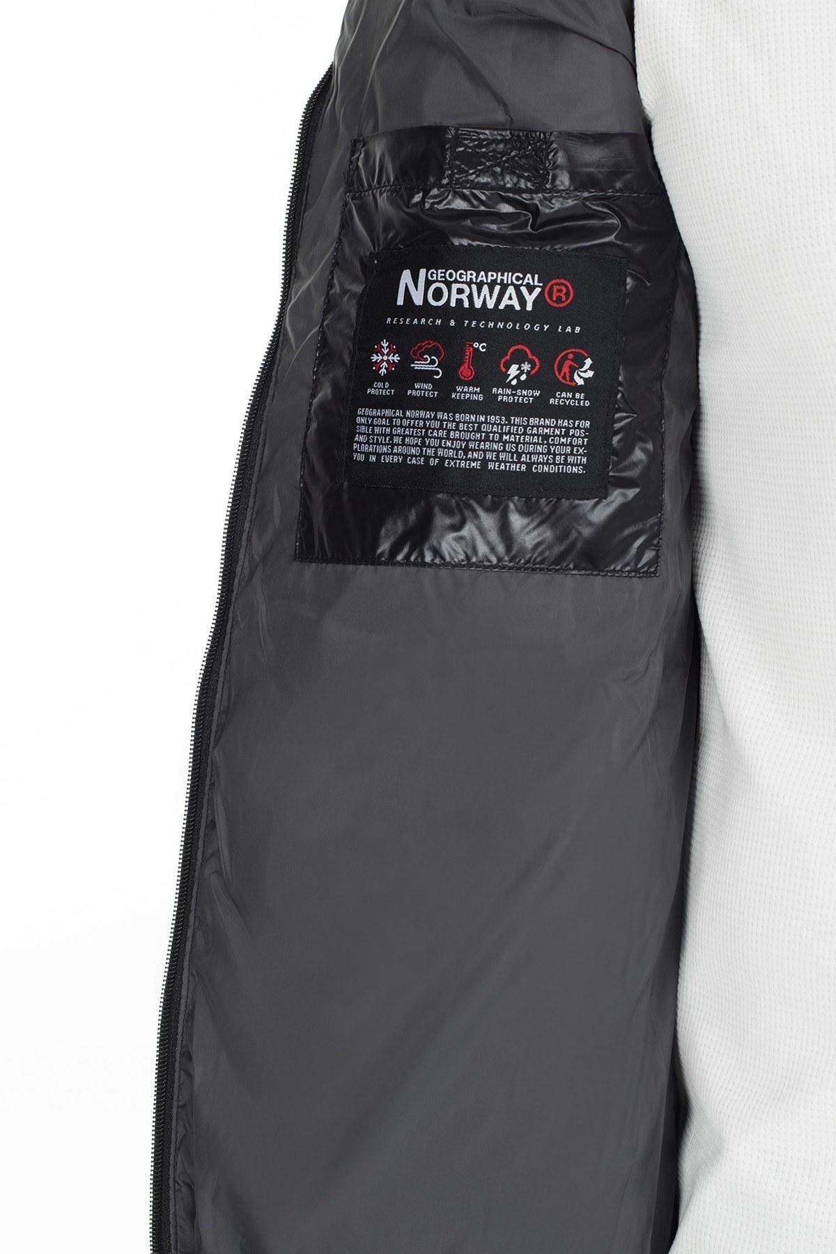 Norway Geographical Outdoor Erkek Parka BELLIX SİYAH