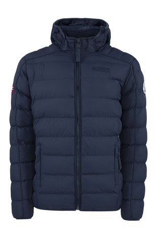 Norway Geographical - Norway Geographical Outdoor Erkek Parka BOMBE LACİVERT
