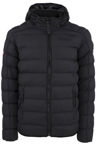 Norway Geographical - Norway Geographical Outdoor Erkek Parka BOMBE SİYAH