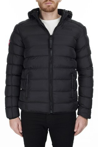 Norway Geographical - Norway Geographical Outdoor Erkek Parka BOMBE SİYAH (1)