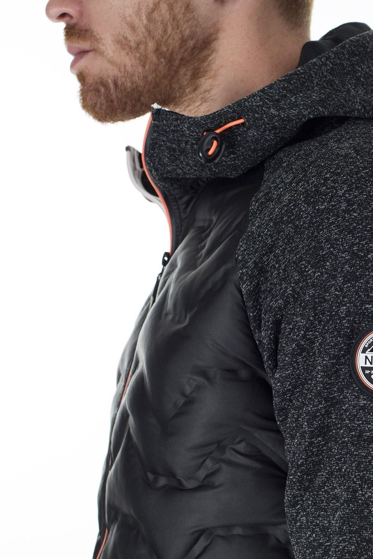 Norway Geographical Outdoor Erkek Sweat GLOBE SİYAH-SİYAH