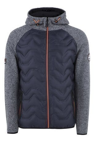 Norway Geographical - Norway Geographical Outdoor Erkek Sweat GLOBE LACİVERT-GRİ