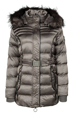 Norway Geographical - Norway Geographical Outdoor Bayan Parka AIMERAUDE VİZON