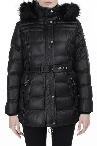 Norway Geographical - Norway Geographical Outdoor Bayan Parka AIMERAUDE SİYAH (1)