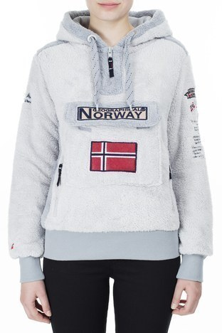 Norway Geographical - Norway Geographical Outdoor Bayan Sweat GYMCLASS GRİ (1)