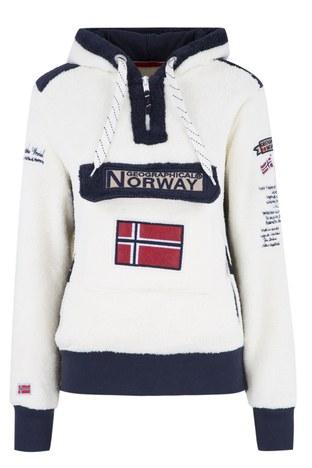 Norway Geographical - Norway Geographical Outdoor Kadın Sweat GYMCLASS EKRU