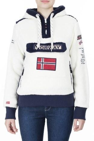 Norway Geographical - Norway Geographical Outdoor Kadın Sweat GYMCLASS EKRU (1)