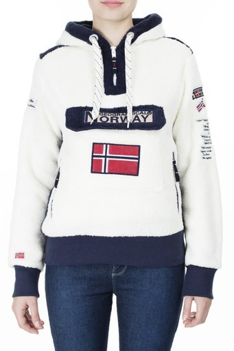 Norway Geographical Outdoor Kadın Sweat GYMCLASS EKRU