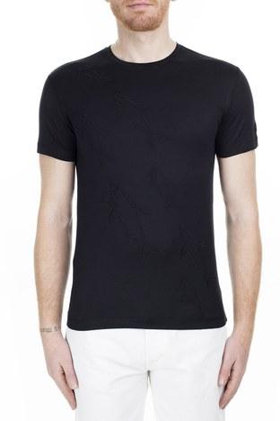 Paul & Shark - Paul & Shark Regular Fit Erkek T Shirt E18P1035SF 011 SİYAH