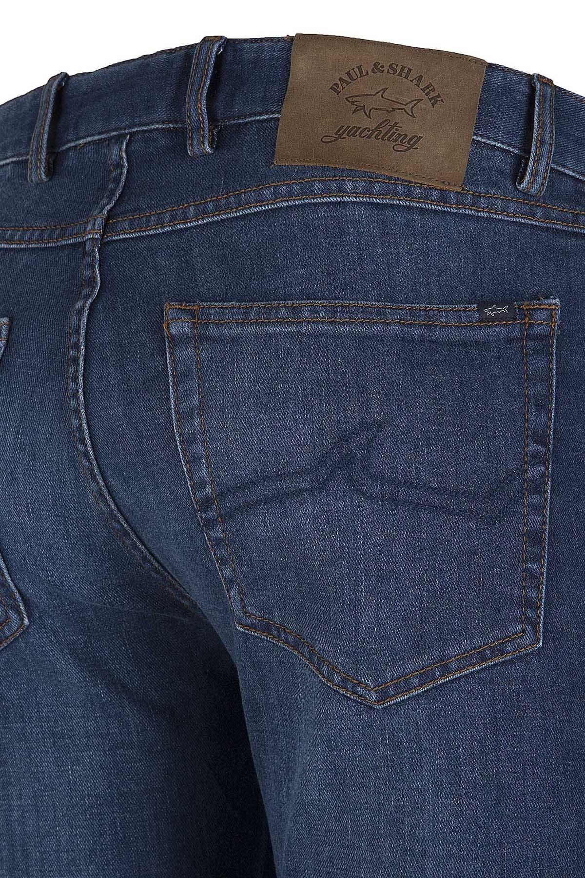 PAUL&SHARK JEANS Erkek Kot Pantolon P18P4225SF 013 MAVİ
