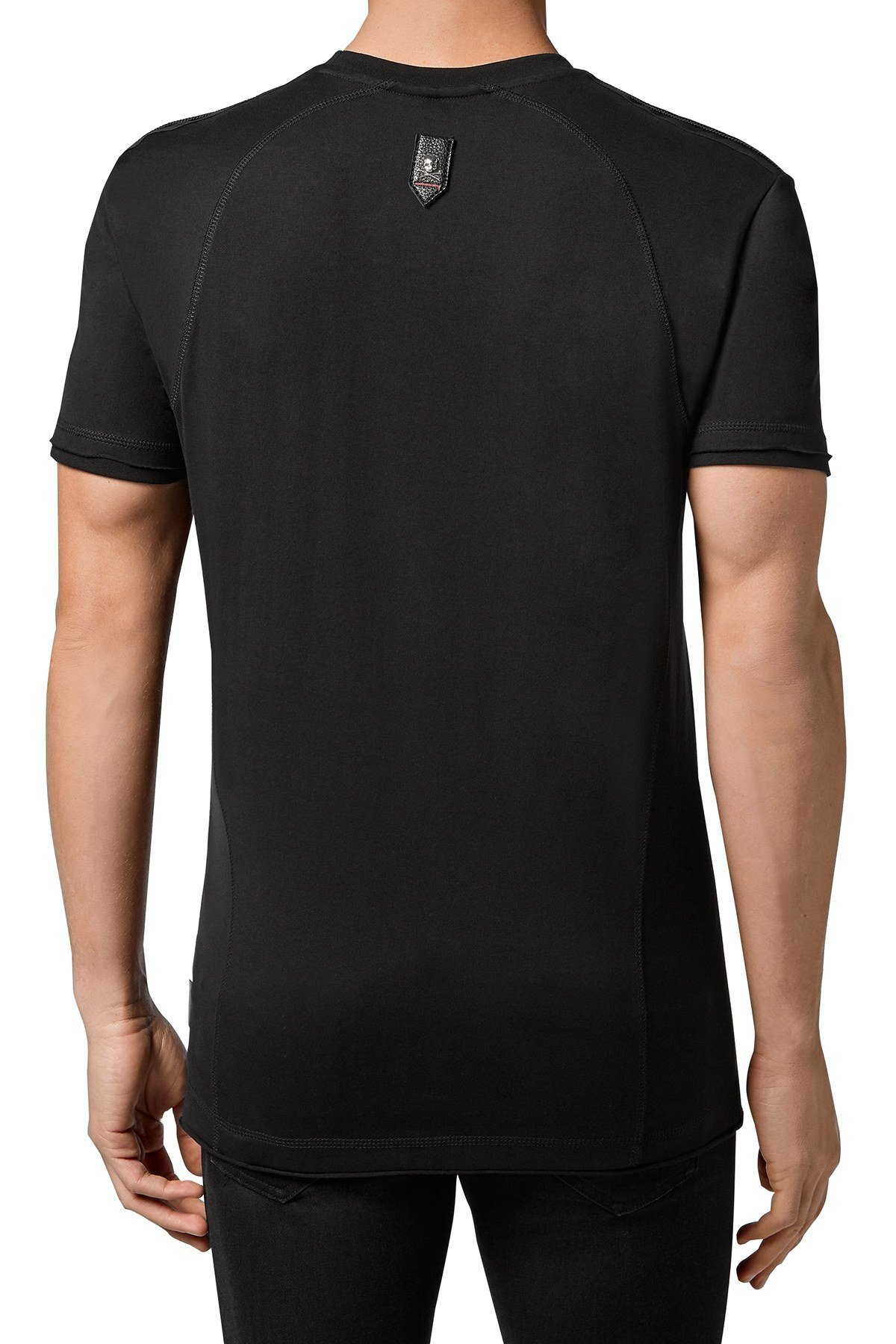 Philipp Plein Erkek T Shirt F20C MTK4587 PJY002N 02 SİYAH
