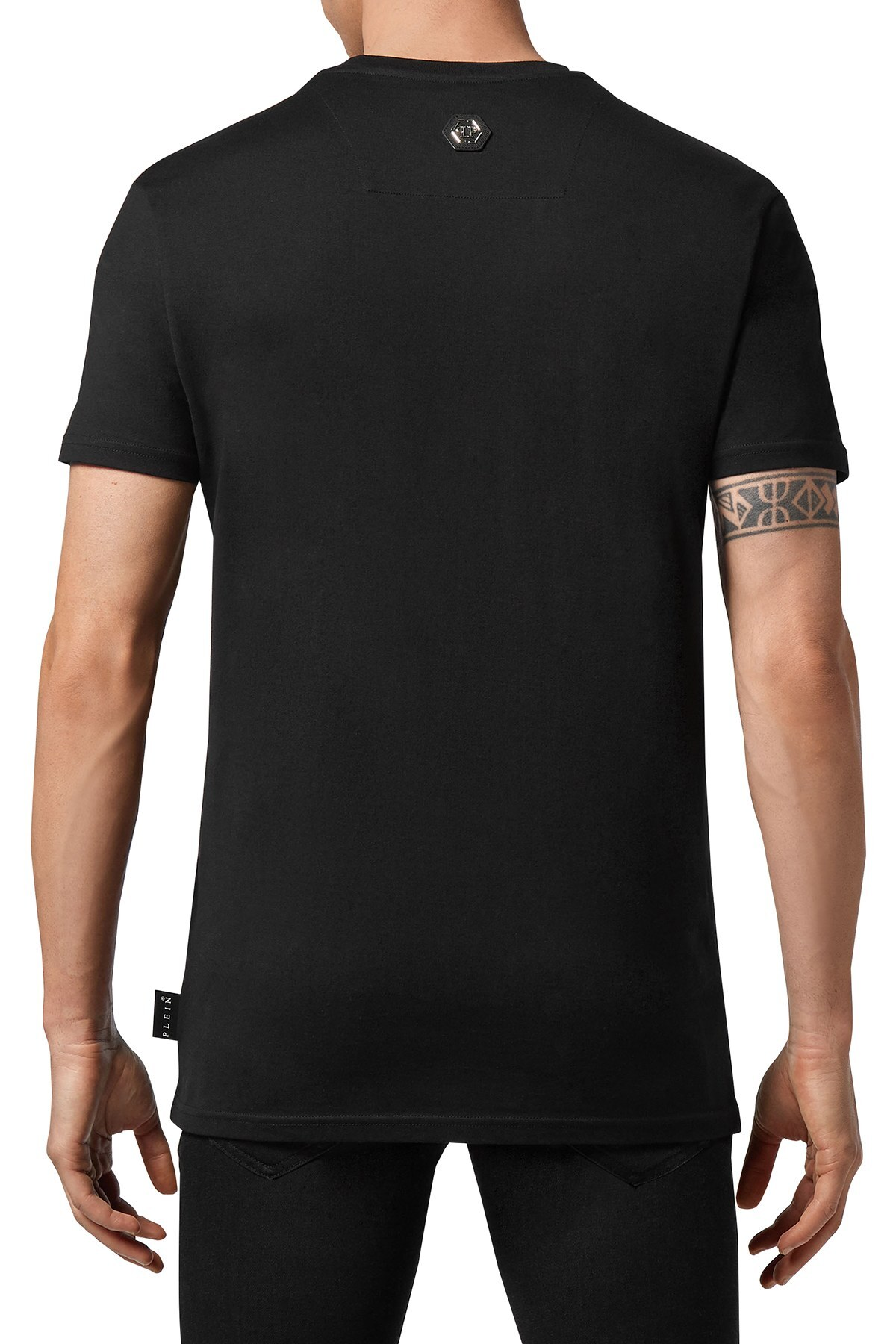 Philipp Plein Erkek T Shirt F20C MTK4607 PJY002N 02 SİYAH