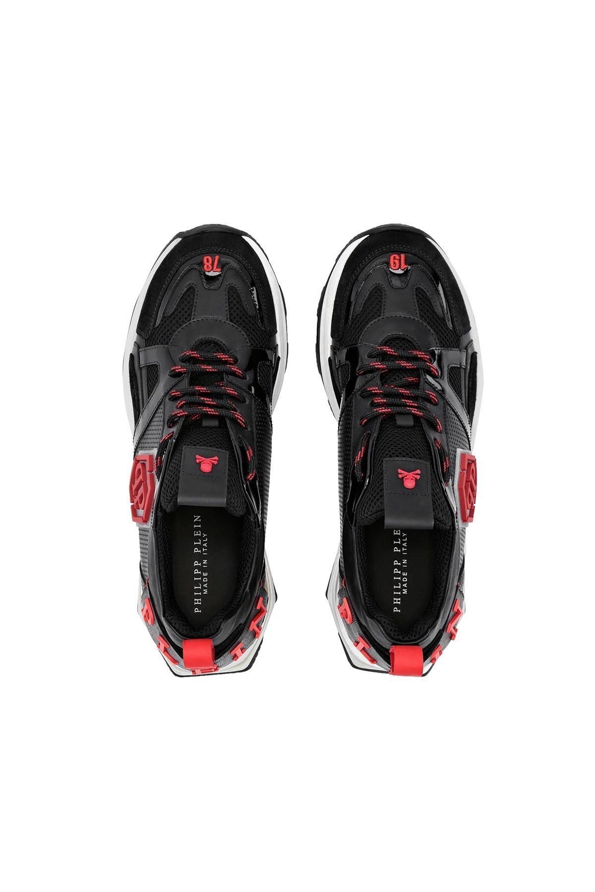 Philipp Plein Hakiki Deri Erkek Ayakkabı F20S MSC2868 PXV001N 0213 SİYAH