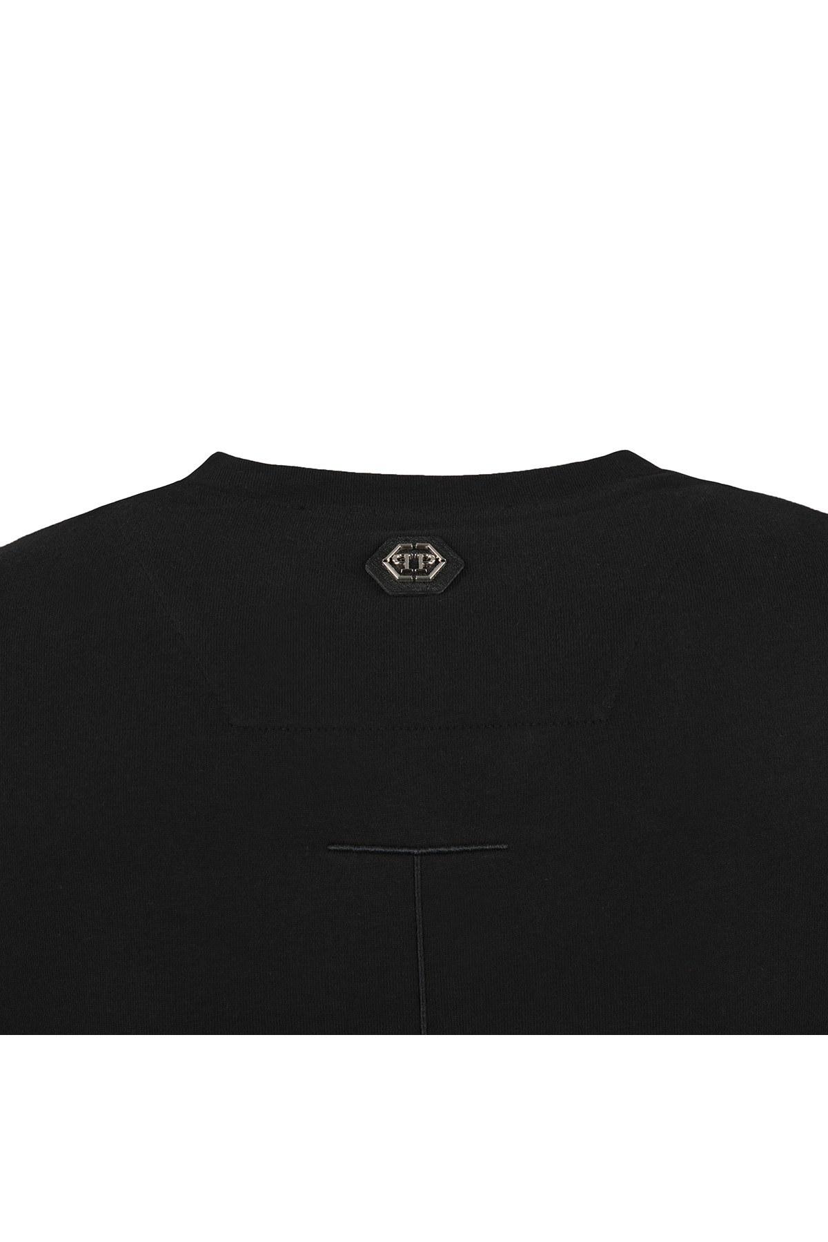 PHILIPP PLEIN T SHIRT Erkek T Shirt F18C MTK2433 PJY002N 02 SİYAH