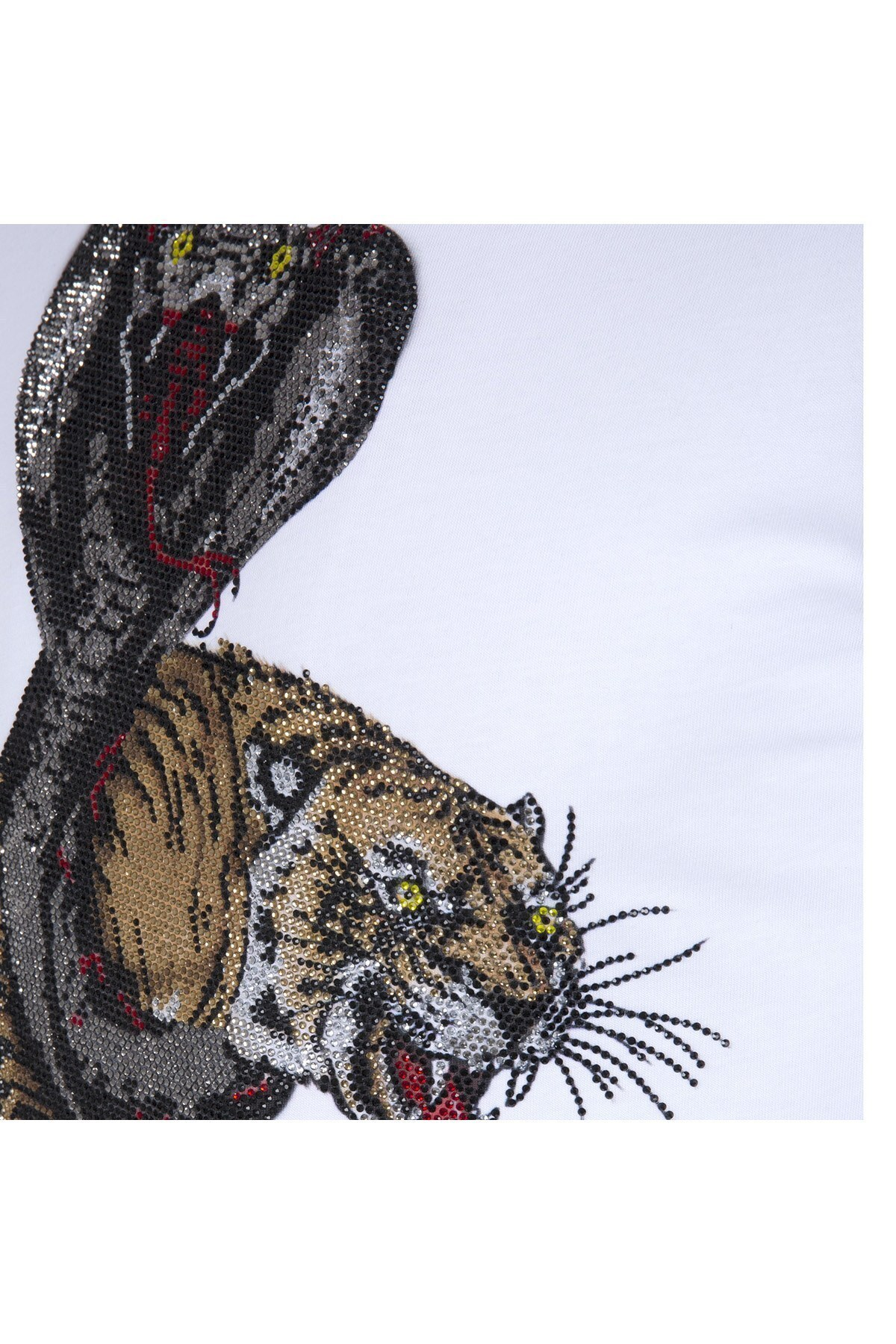 PHILIPP PLEIN T SHIRT Erkek T Shirt P18C MTK1936 PJY002N 01 BEYAZ