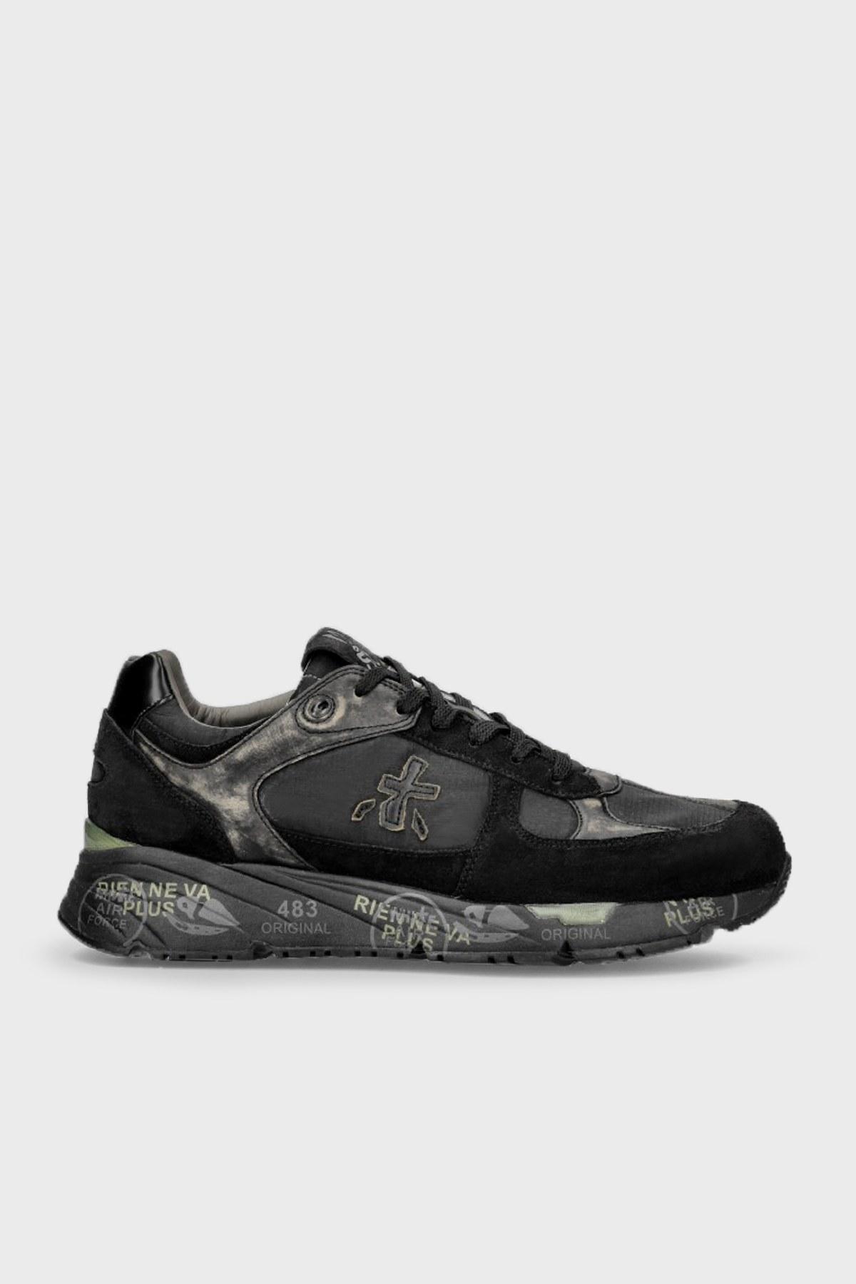 Premiata Baskılı Sneaker Erkek Ayakkabı MASE 5013 SİYAH