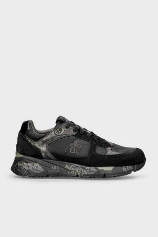 Premiata - Premiata Baskılı Sneaker Erkek Ayakkabı MASE 5013 SİYAH
