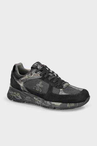 Premiata - Premiata Baskılı Sneaker Erkek Ayakkabı MASE 5013 SİYAH (1)