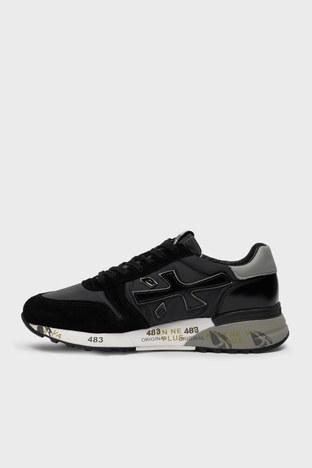 Premiata - Premiata Baskılı Sneaker Erkek Ayakkabı MICK 5017 SİYAH (1)