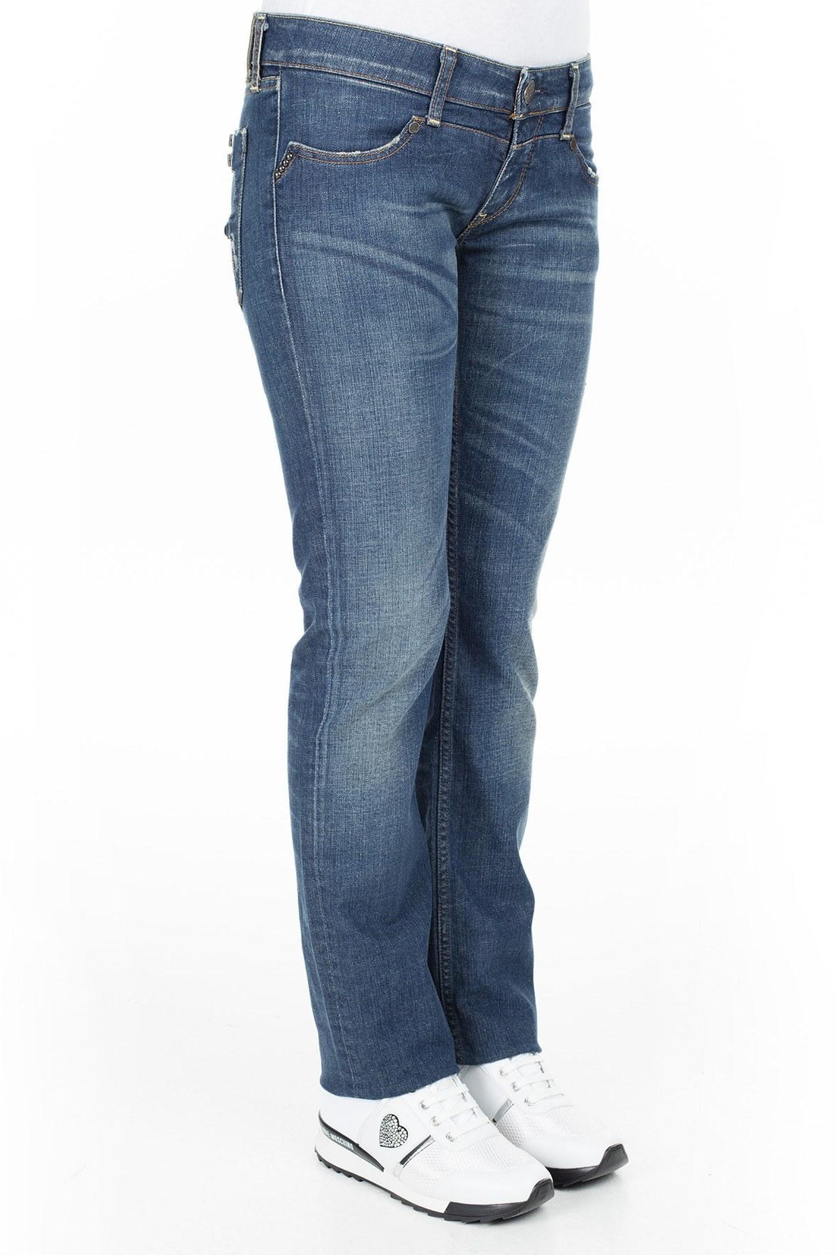 Replay Jeans Bayan Kot Pantolon ZOXVD1057 LACİVERT