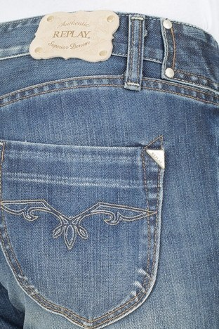 Replay Jeans Kadın Kot Pantolon ZOXWV516 LACİVERT