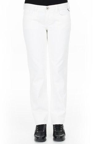 Replay - Replay Jeans Bayan Kot Pantolon ZOXWV552 BEYAZ (1)