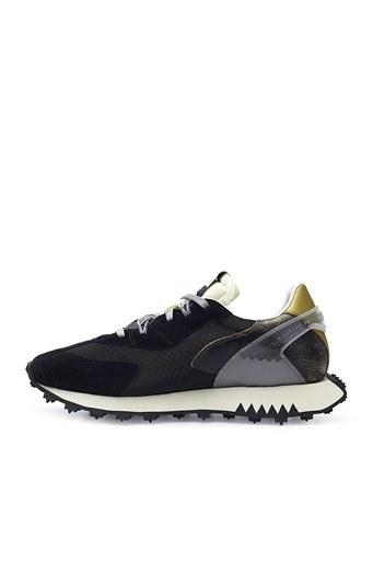 Run Of Black Steel Günlük Spor Erkek Ayakkabı 40039G SİYAH