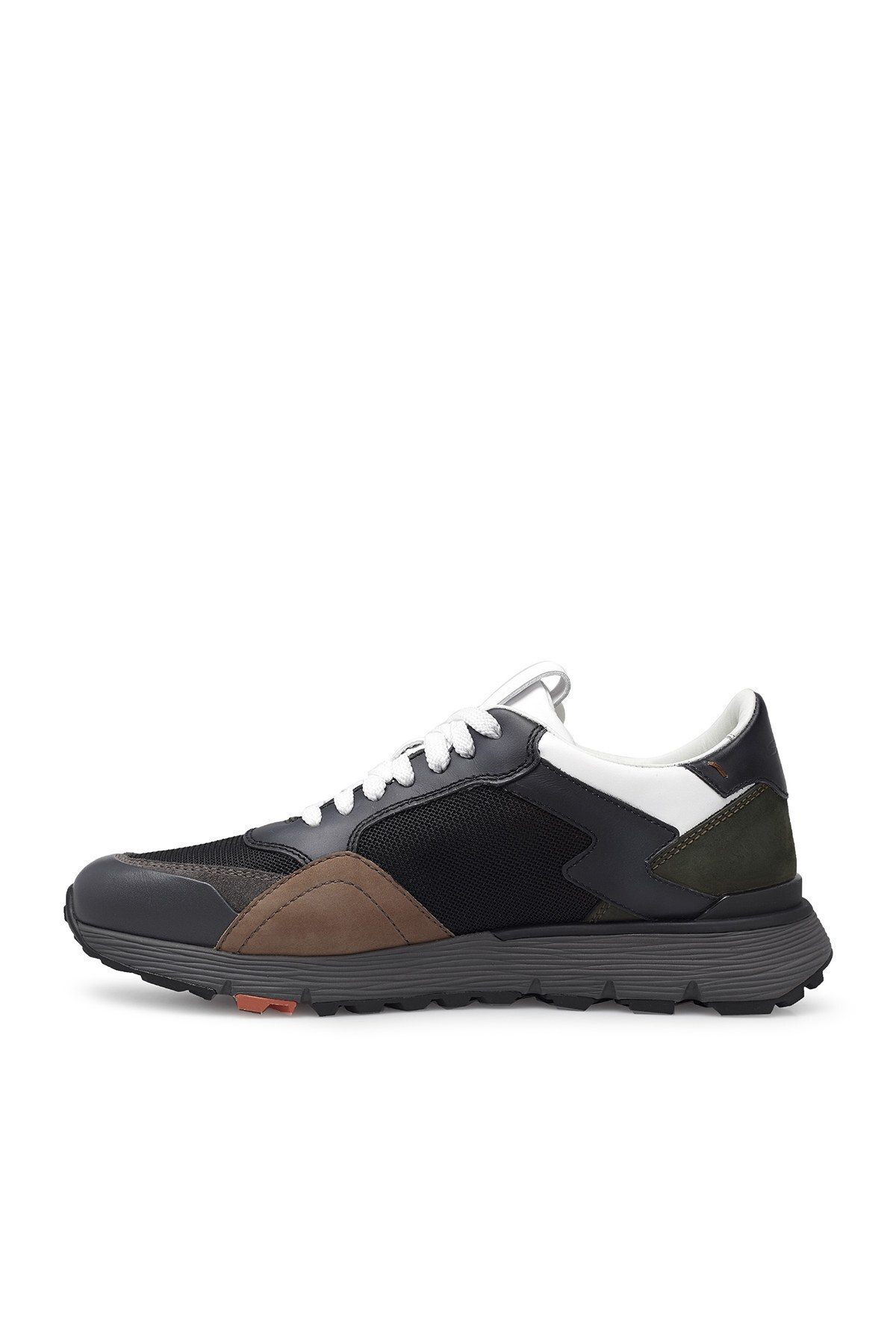 Santoni Erkek Ayakkabı MBCR21297ANAGWSNN40 SİYAH-GRİ