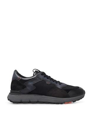 Santoni - Santoni Erkek Ayakkabı MBCR21297ANARJXNN55 SİYAH