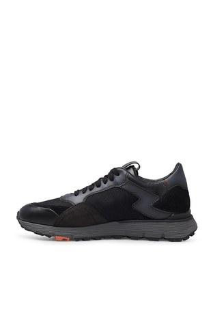 Santoni - Santoni Erkek Ayakkabı MBCR21297ANARJXNN55 SİYAH (1)