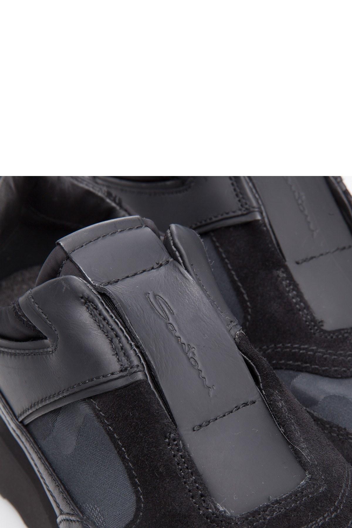 SANTONI Erkek Ayakkabı MBFL20940NGNDHDN01 SİYAH