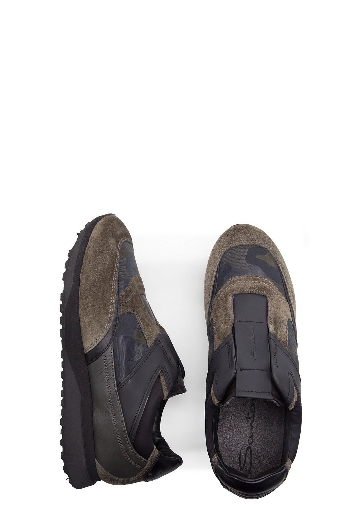 SANTONI Erkek Ayakkabı MBFL20940NGNDHDNV50 HAKİ