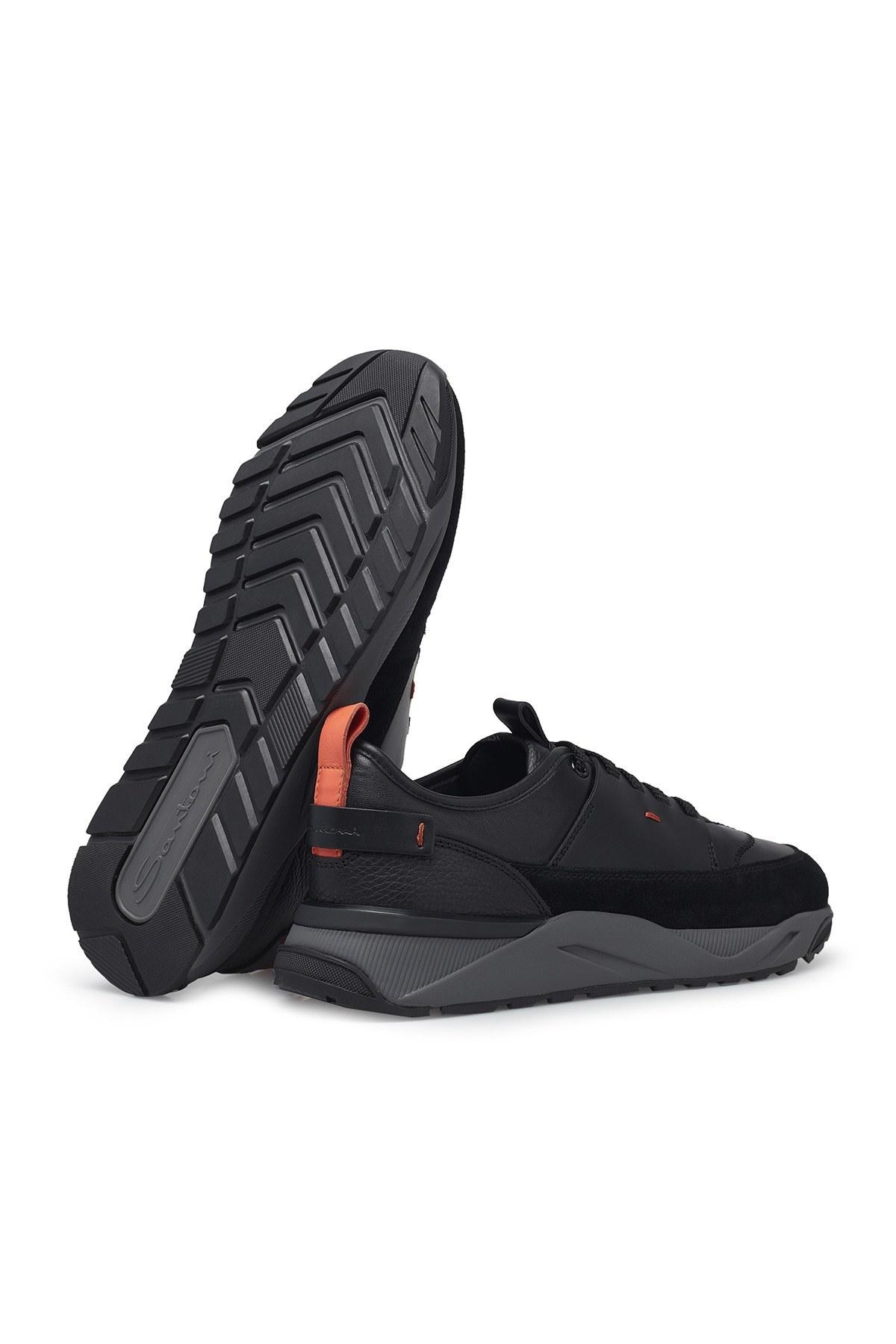 Santoni Erkek Ayakkabı MBIO21204ANERRSEN55 SİYAH