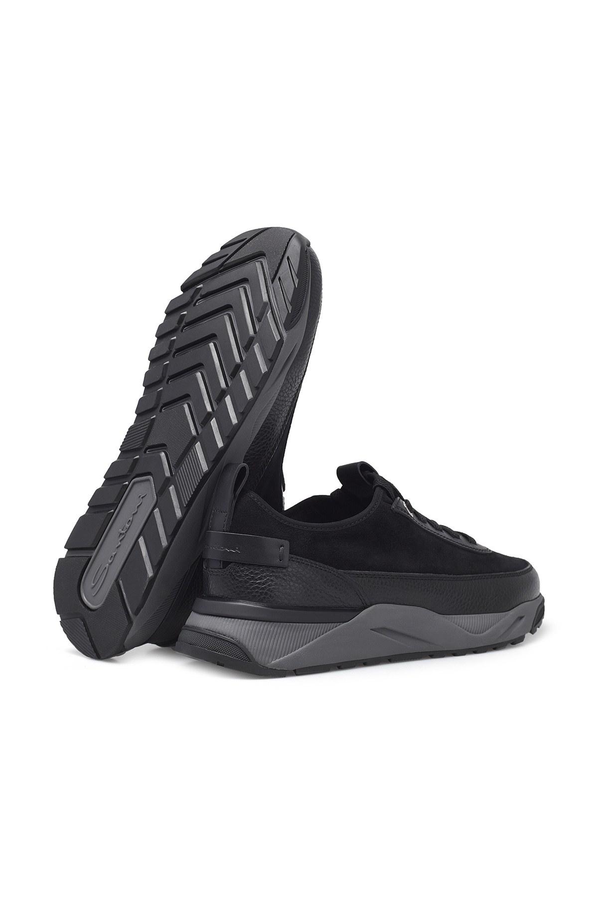 Santoni Erkek Ayakkabı MBIO21323ANERVBRN01 SİYAH