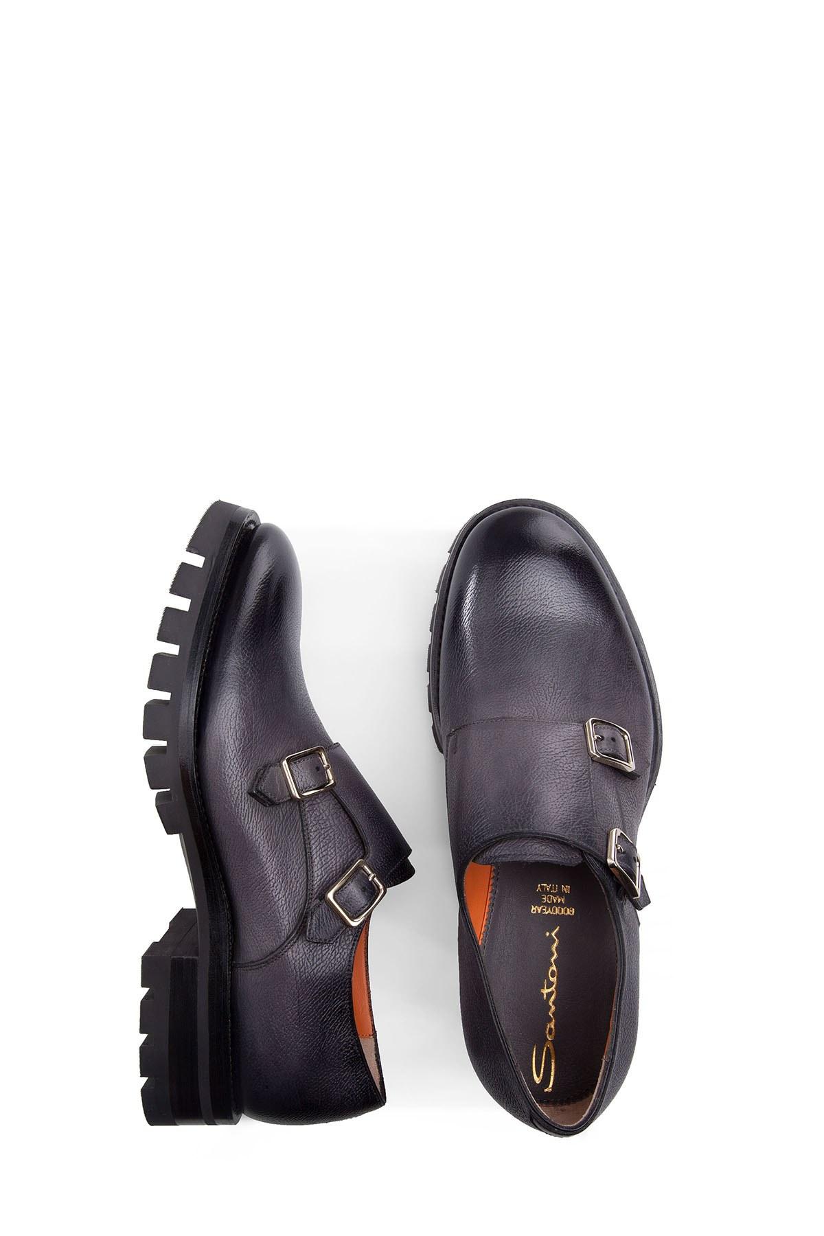 SANTONI Erkek Ayakkabı MCNL16239UW1IGHMG60 FÜME