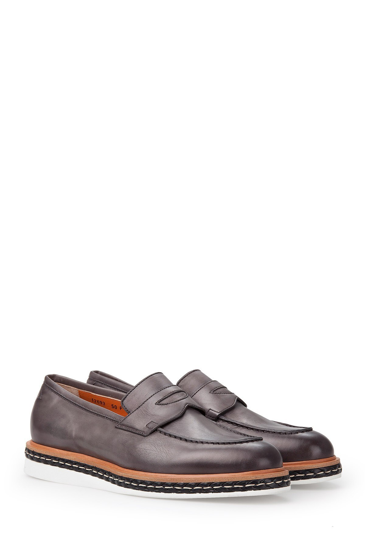 SANTONI Erkek Ayakkabı MGHI12693JW3GNDTG50 FÜME