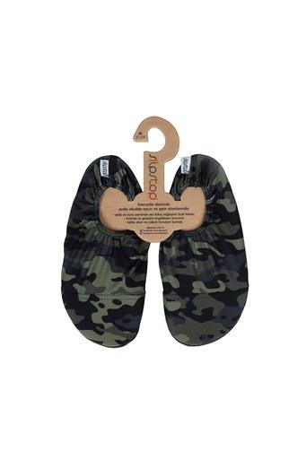 Slipstop Army Junior Kaydırmaz Havuz ve Deniz Ayakkabı ÇOCUK AYAKKABI SS18120179 KAMUFLAJ