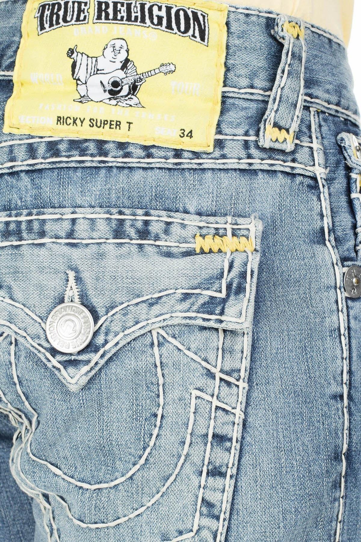 True Religion Jeans Erkek Kot Pantolon M24859BB0 LACİVERT