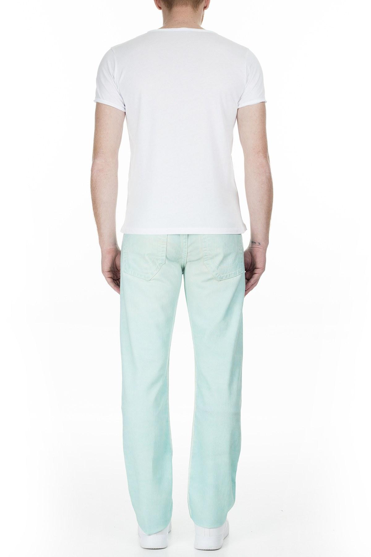 True Religion Jeans Erkek Kot Pantolon M58J19Y13 AQUA