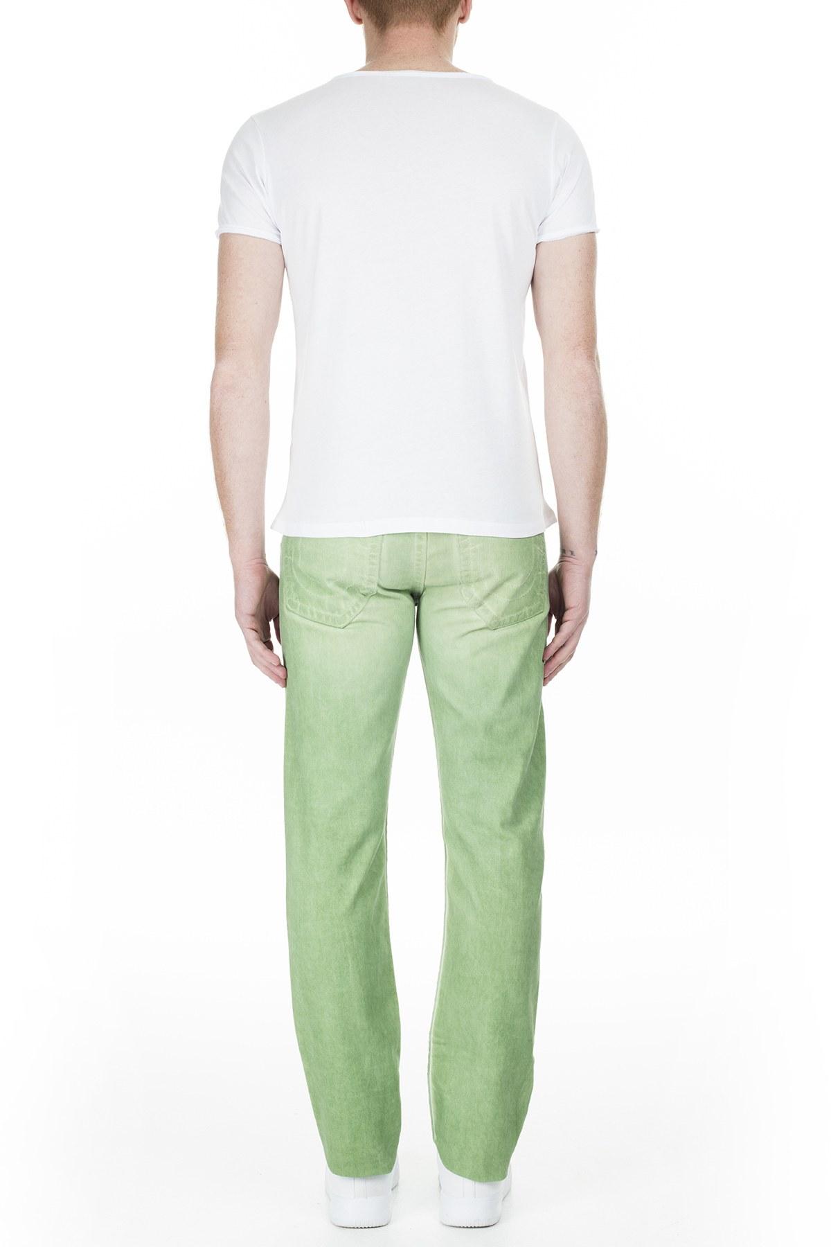 True Religion Jeans Erkek Kot Pantolon M58J19Y13 YEŞİL