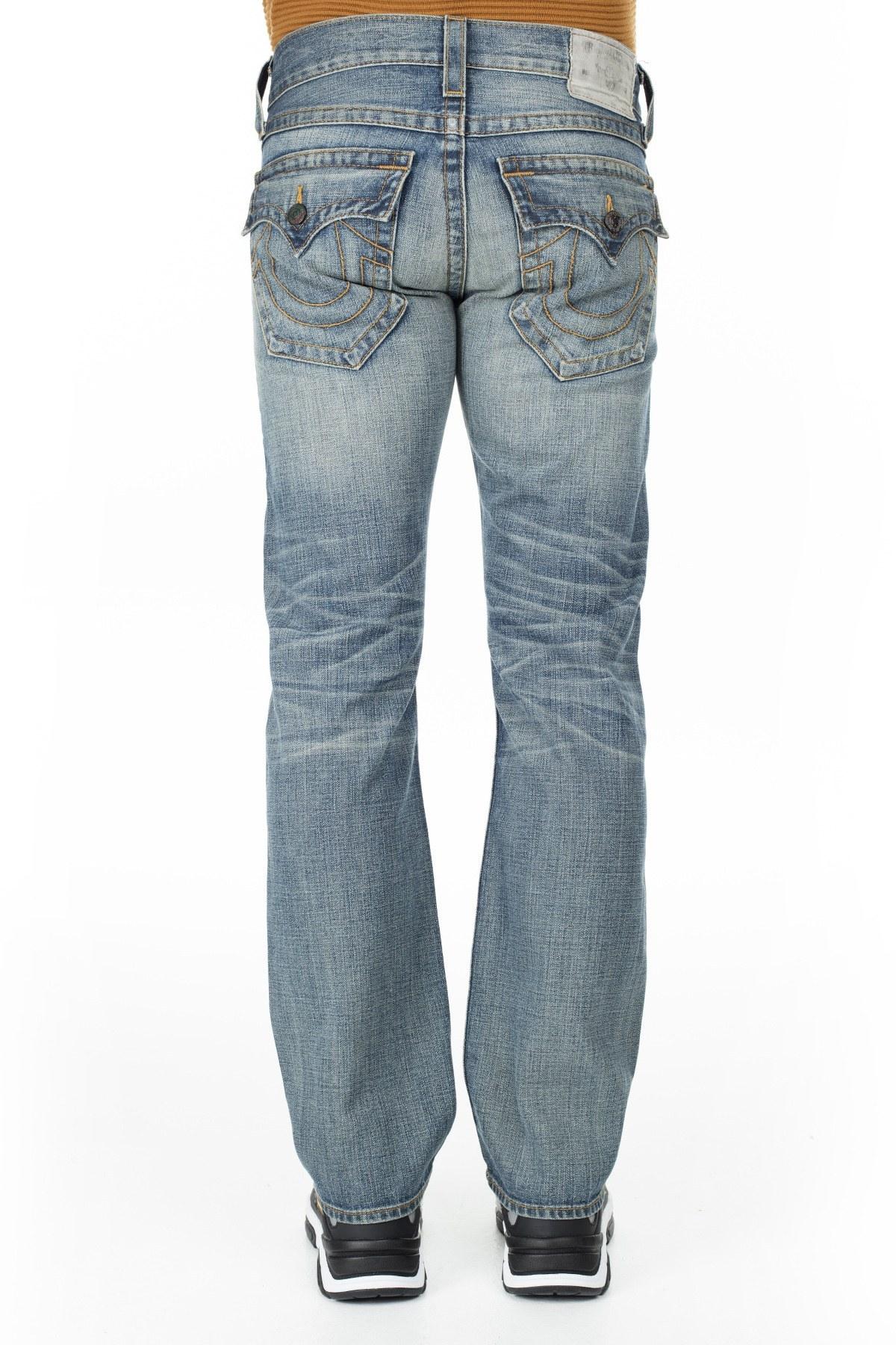 True Religion Jeans Erkek Kot Pantolon MJW859S34 İNDİGO