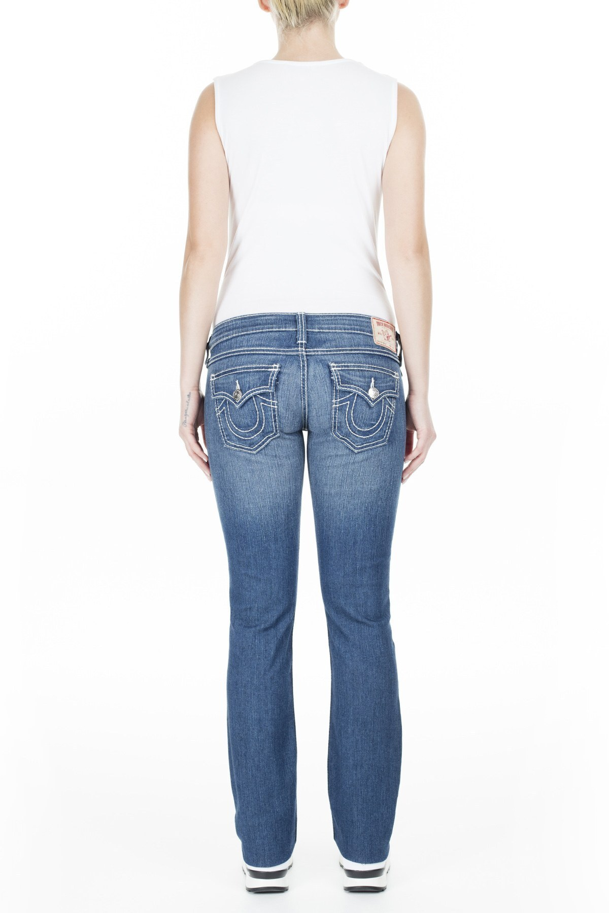 True Religion Jeans Kadın Kot Pantolon WJCV54Y40CXNM LACİVERT
