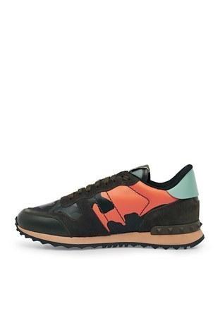 Valentino - Valentino Sneaker Erkek Ayakkabı S0723 TCC FR4 BORDO-HAKİ (1)