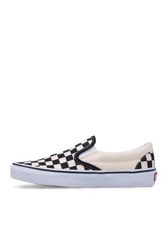 Vans Classic Slip-On Ayakkabı UNISEX AYAKKABI VN000EYEBWW1 SİYAH-BEYAZ