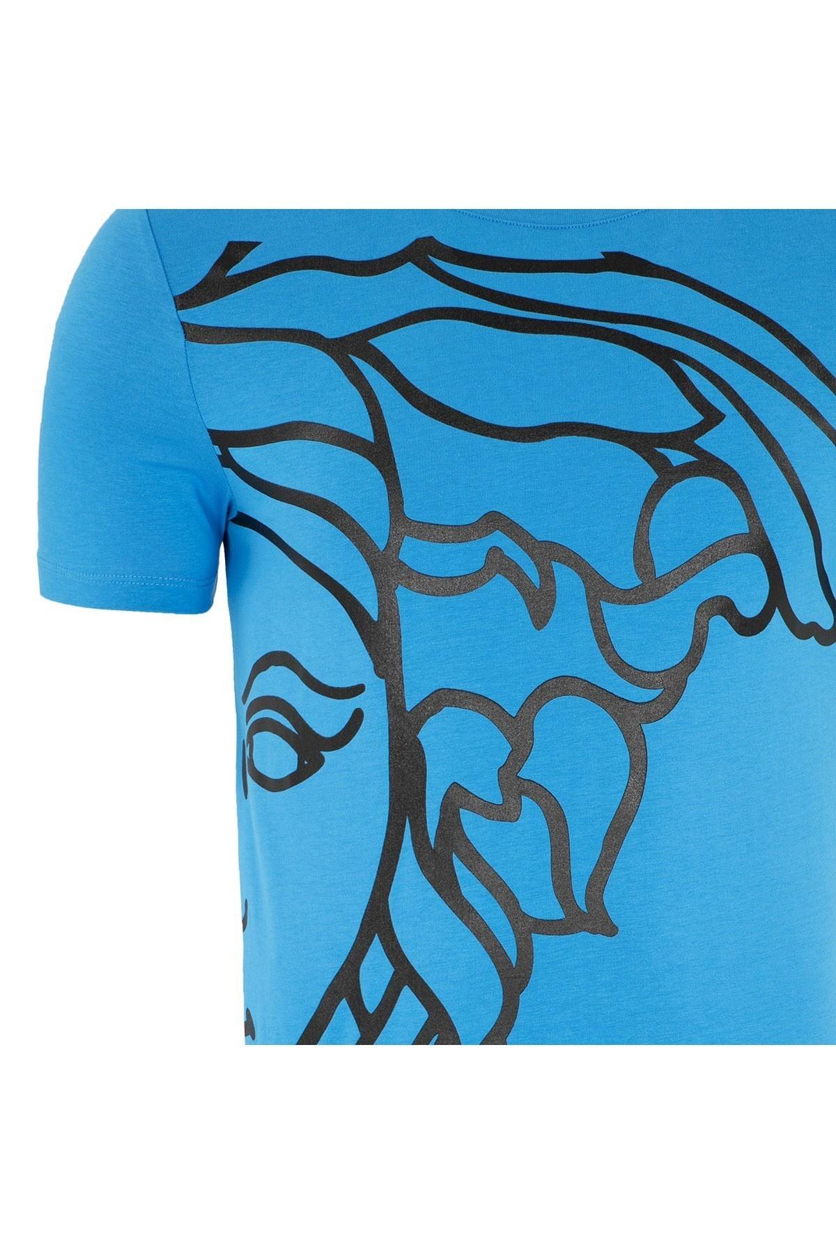 VERSACE COLLECTION T SHIRT Erkek T Shirt V800683S VJ00477 V1375 SAKS