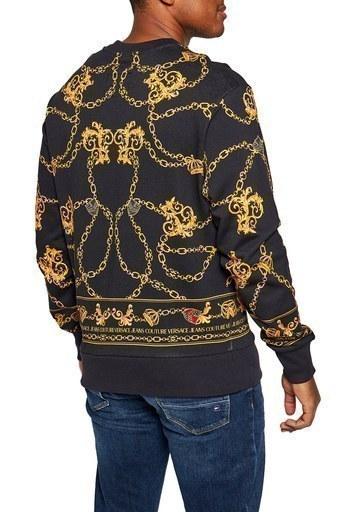 Versace Jeans Couture Erkek Sweat B7GZB7KF 30328 K42 SİYAH
