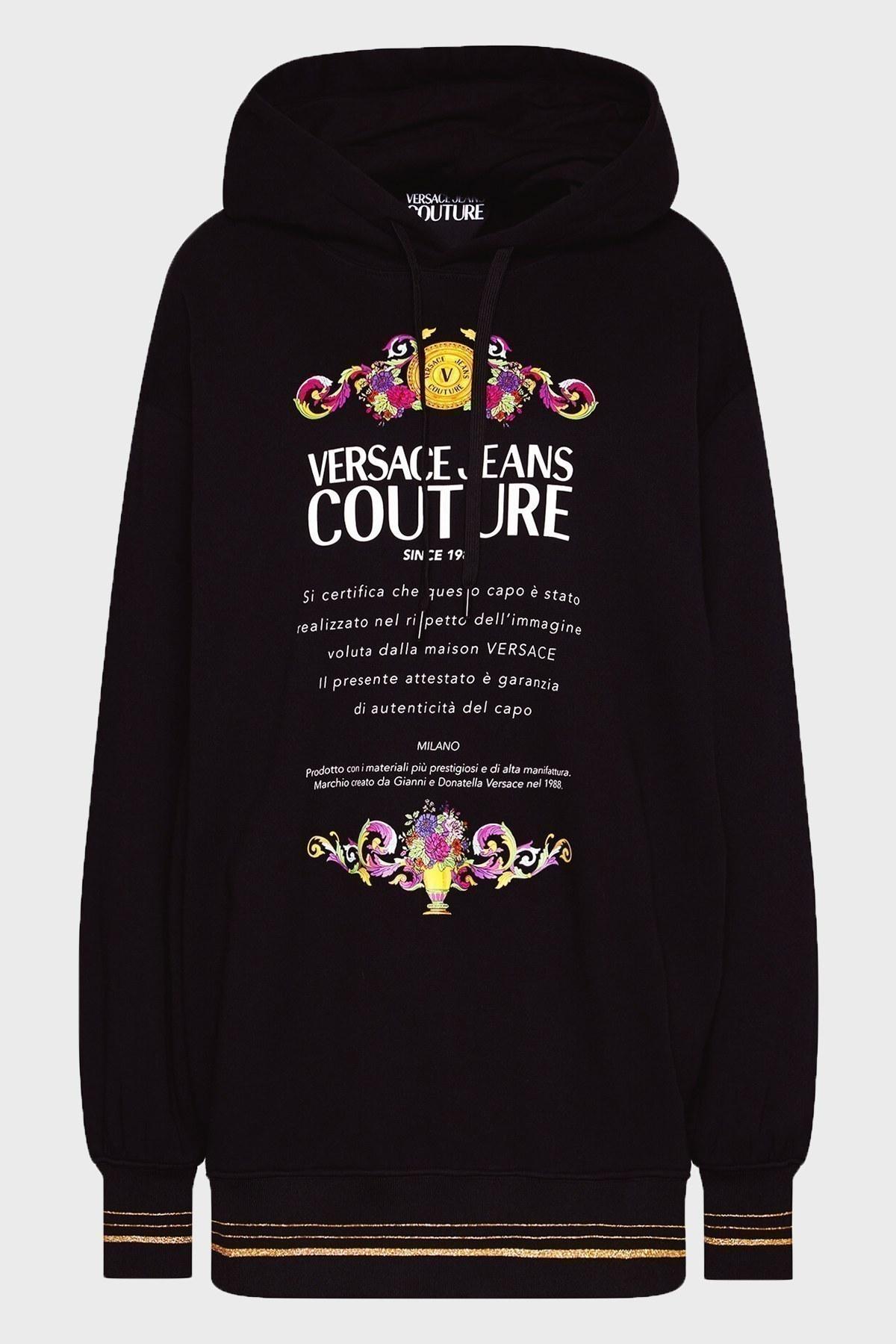 Versace Jeans Couture Bayan Sweat B6HWA7TL 30318 899 SİYAH